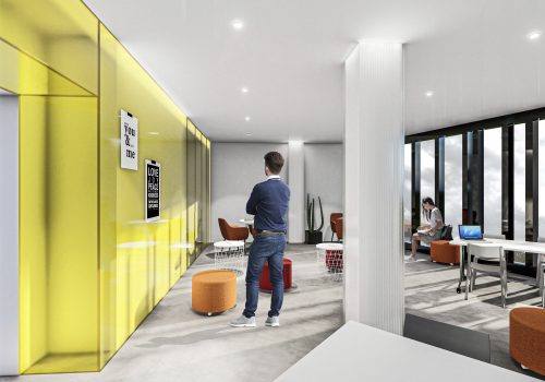 render coworking bcome malaga