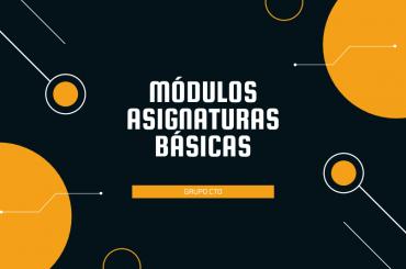 modulos asignaturas basicas blog